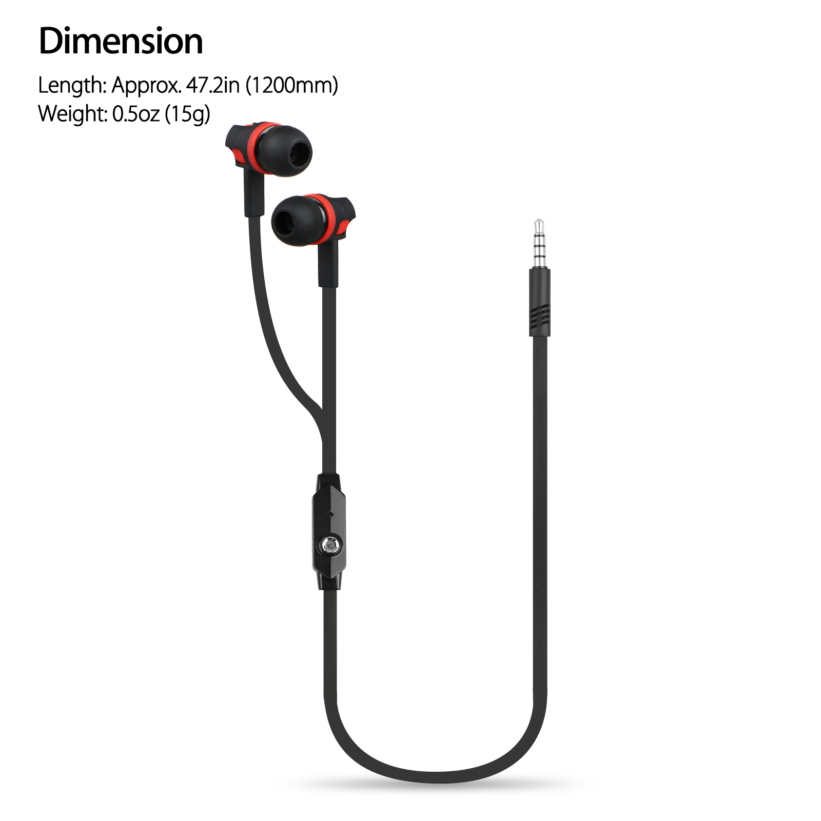 3 5mm In Ear Stereo Earbuds Headphone Earphone Headset