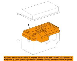 Saturn GM OEM 2000 LS2Fuse Box 15358341 | eBay