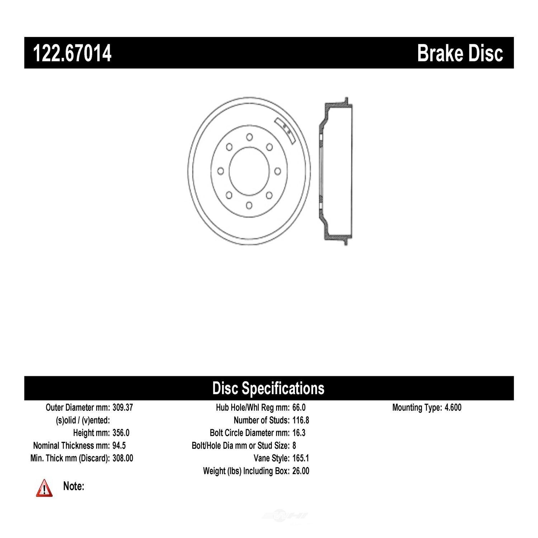 Brake Drum Premium Drum