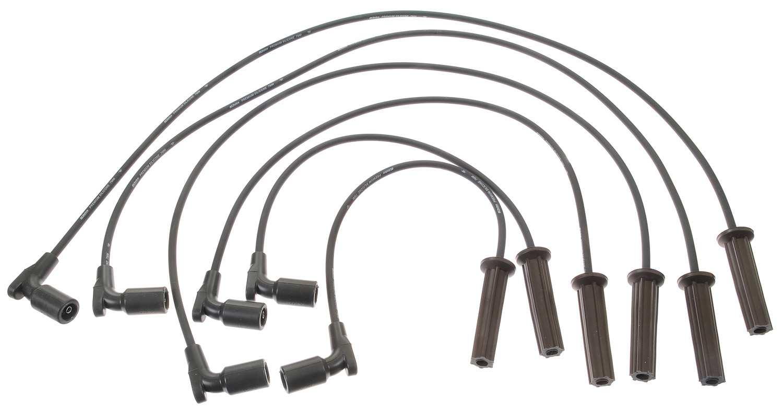 Spark Plug Wire Set Acdelco Pro Tt