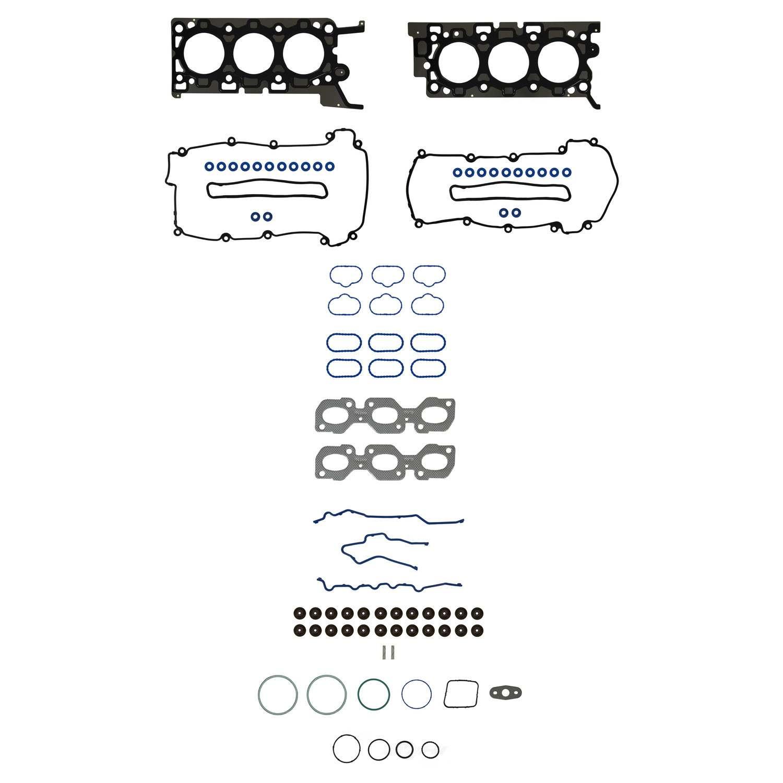 Engine Cylinder Head Gasket Set Fel Pro Fits 02 05 Jaguar X Type 2 5l V6