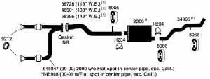 CHEVROLET SILVERADO 1500 Exhaust Diagram from Best Value