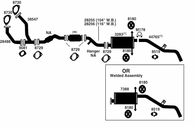 Nissan Datsun Pickup D21 Hardbody Exhaust Diagram From