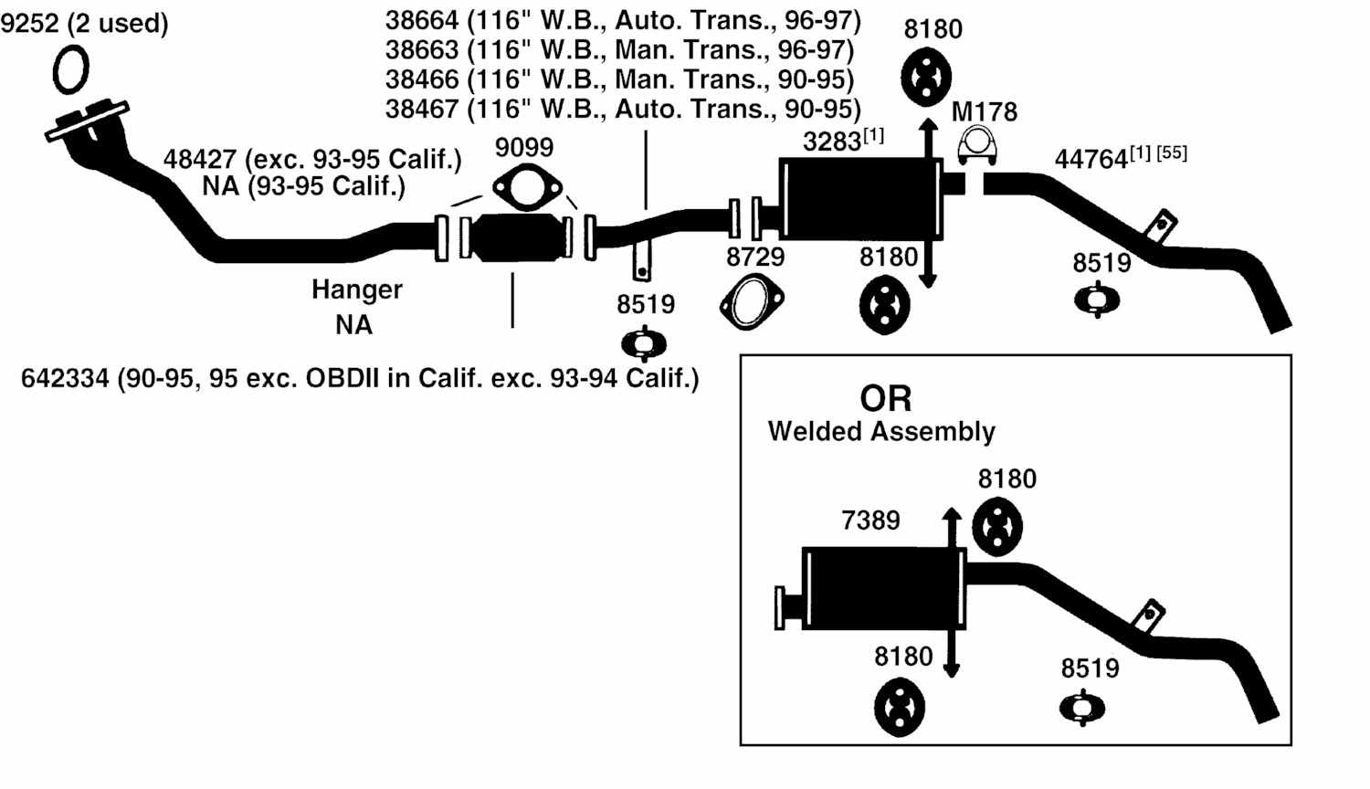 Nissan Datsun Pickup D21 Hardbody Exhaust Diagram From
