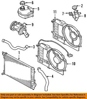 MINI OEM 0206 CooperEngine Coolant Thermostat Housing