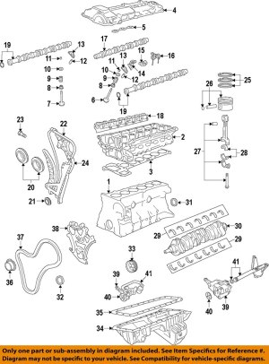 BMW OEM 0713 328iEngine Valve Cover 11127582245