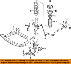 0407 S60 Front SuspensionStrut 30683703 | eBay