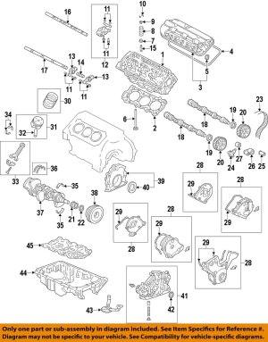 HONDA OEMEngine Crankshaft Crank Seal 91212R70A02   eBay