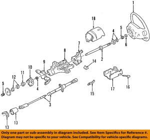 FORD OEM Steering ColumnBearing F4DZ3517B