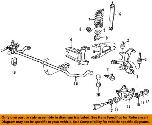 FORD OEM 9296 F150 Front SuspensionMounting Bracket