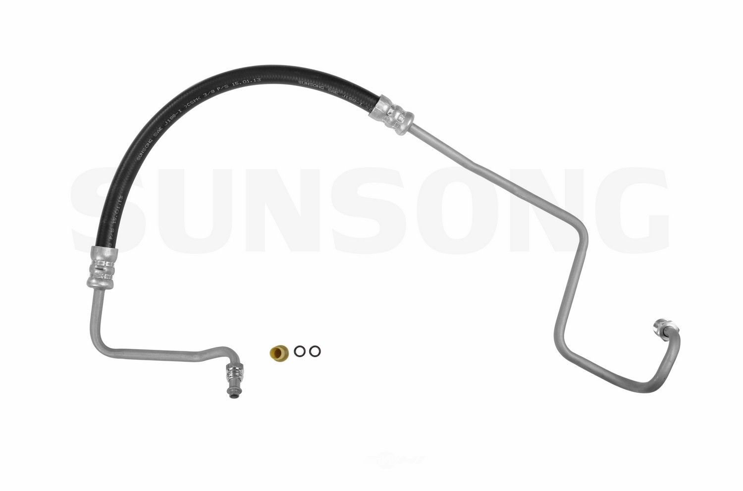 Power Steering Pressure Line Hose Assembly Fits 81 86 Jeep