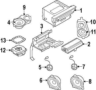 2009 bmw x5 sound system parts bmw x5 original parts