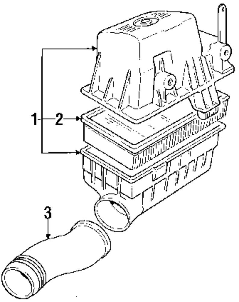 Genuine bmw inlet duct bmw 13711713128