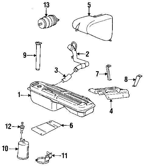 Genuine bmw heat shield mount bracket bmw 16111177347