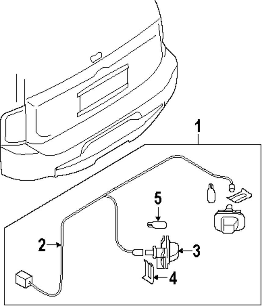 Genuine infiniti bumper cover clip inf 462067s000