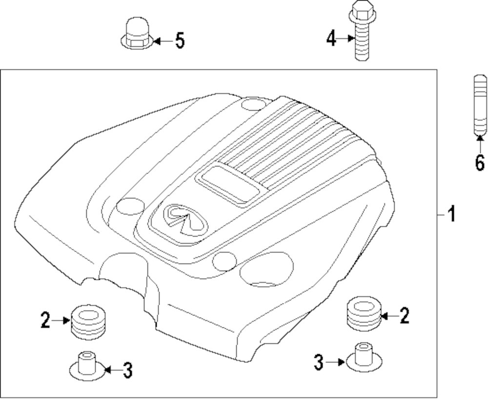 Buy engine engine appearance cover parts for mercedes benz r350