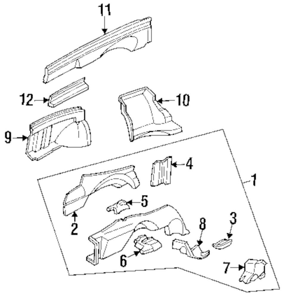 Genuine honda mount bracket hon 60831sm4300zz