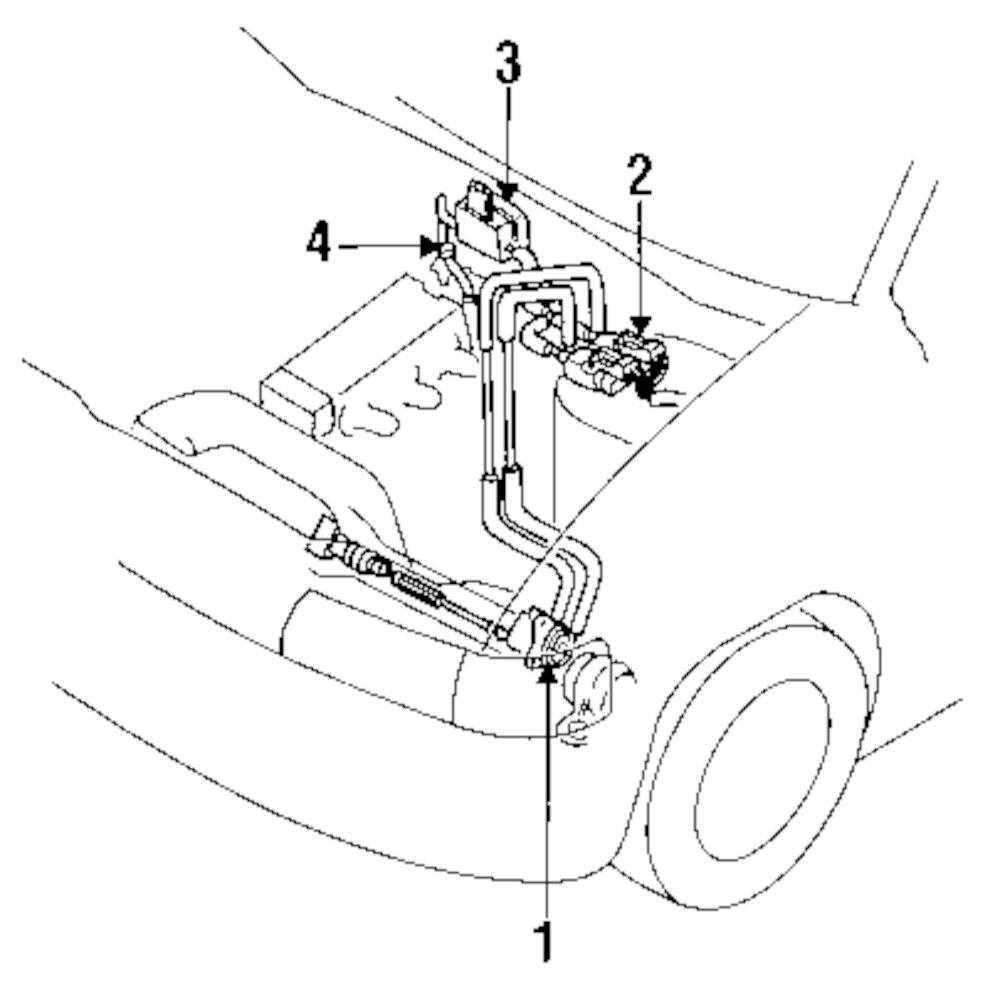 Genuine mazda check valve maz he4113995