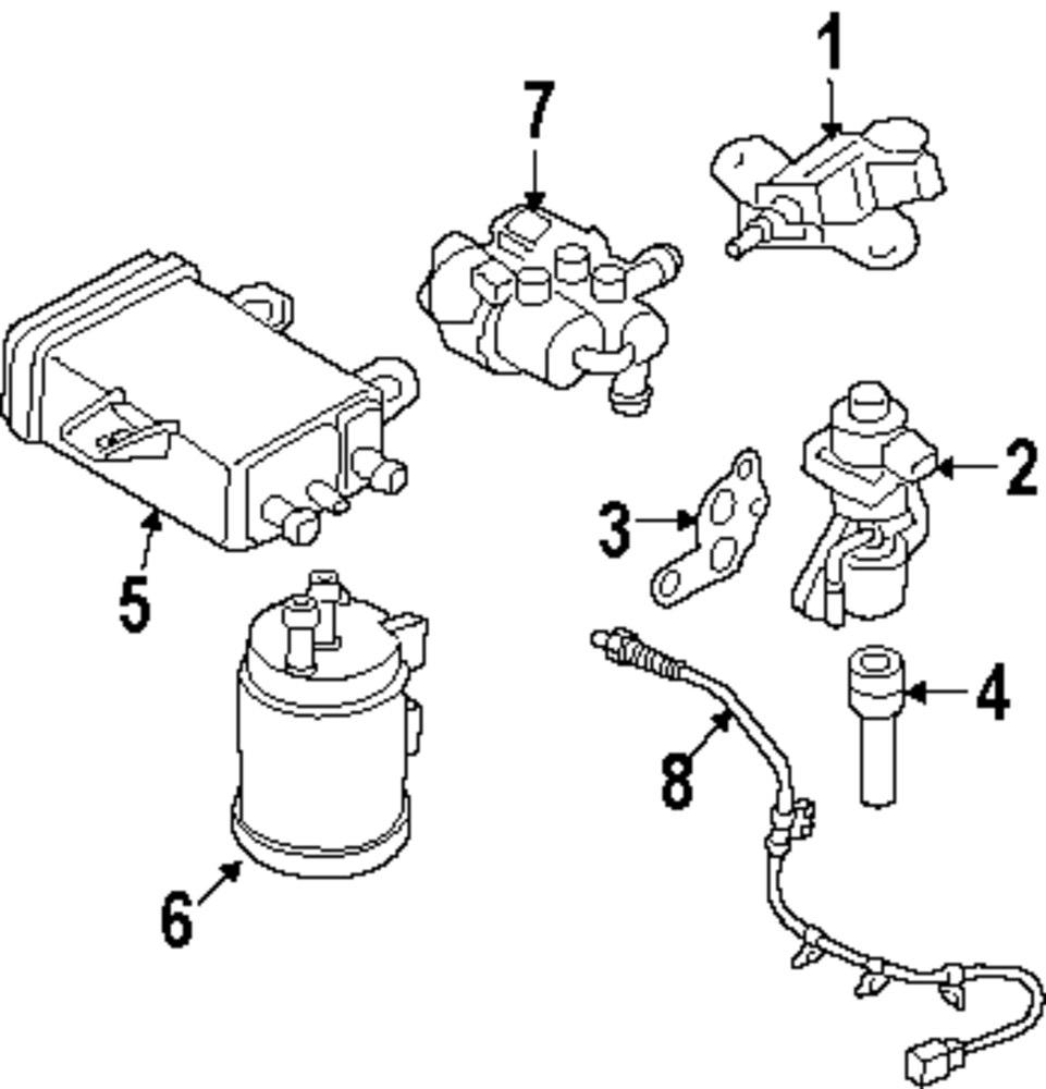 Genuine mazda oxygen sensor maz lfl7188g1c