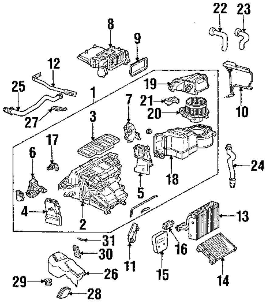 Genuine mercedes benz rear housing mbz 4038301003