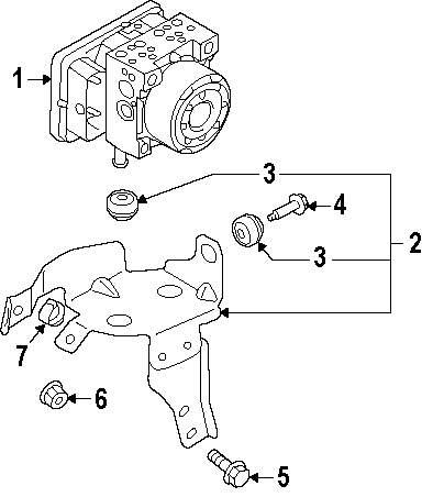 Genuine mitsubishi mount bracket mount bolt mit mf911336