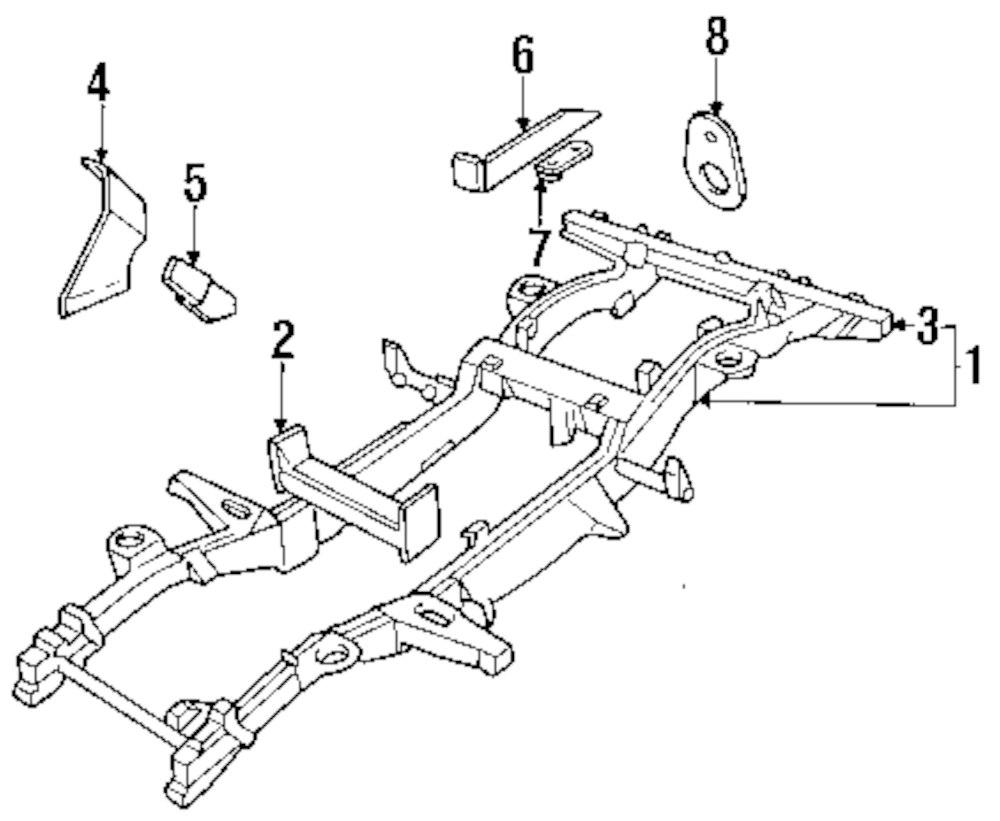 Genuine land rover support support bracket ran nrc9696