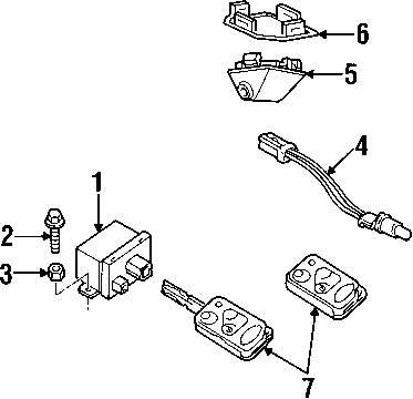 Genuine land rover receiver nut ran rtc3745