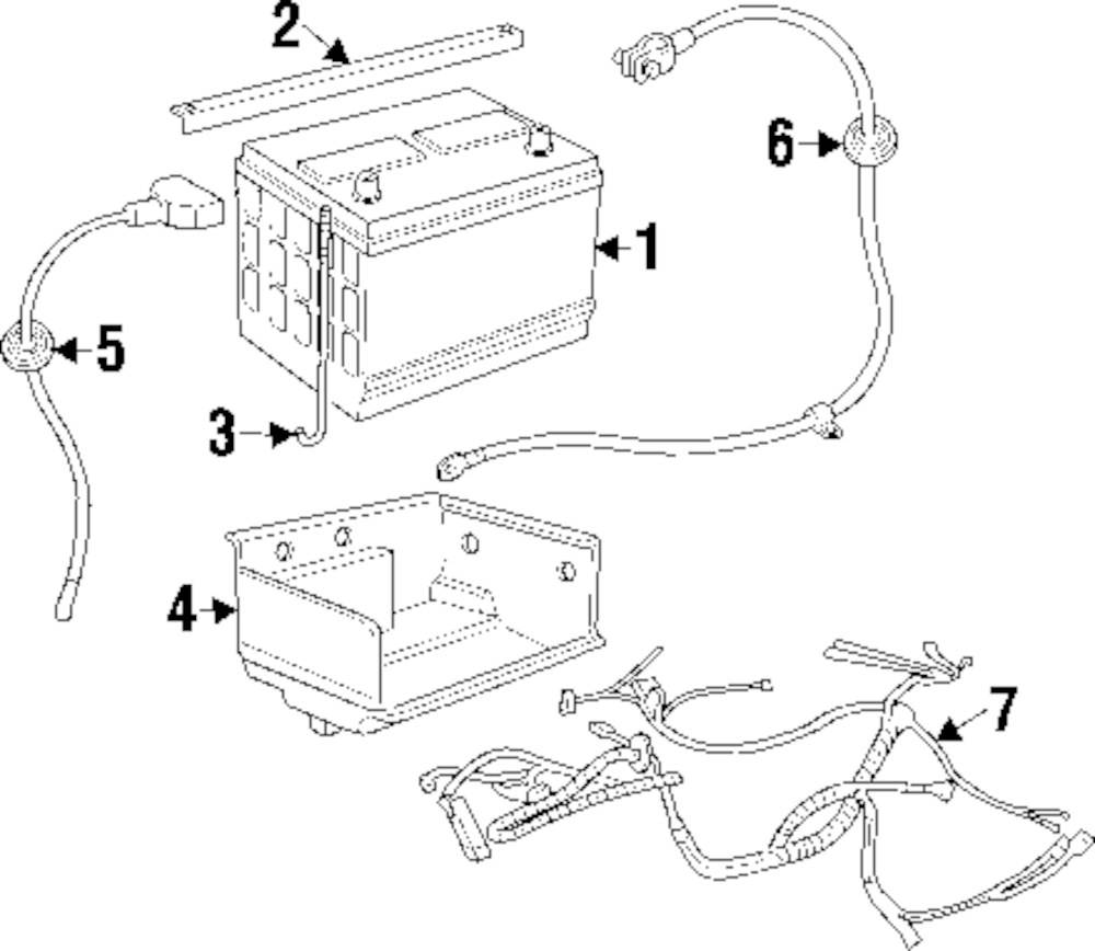 Genuine land rover engine harness ran amr5713