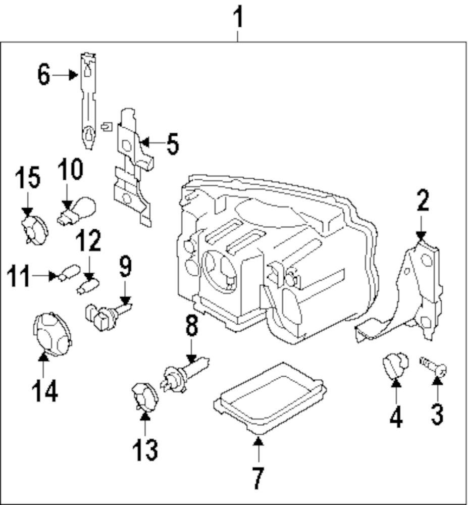 Genuine land rover inner bracket screw ran xyg500030