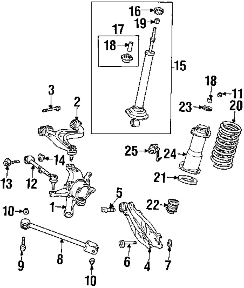 2002 Lexus Is300 Front Suspension Diagram