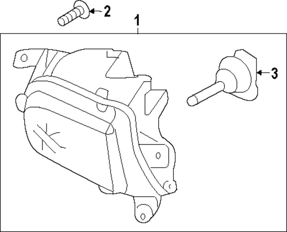 Genuine volkswagen bracket bolt vwg n90698606