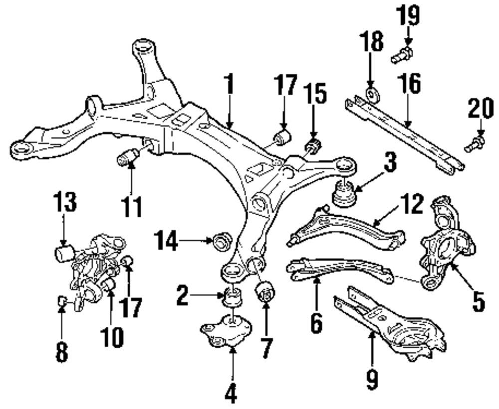 2000 volvo v70 front suspension diagram