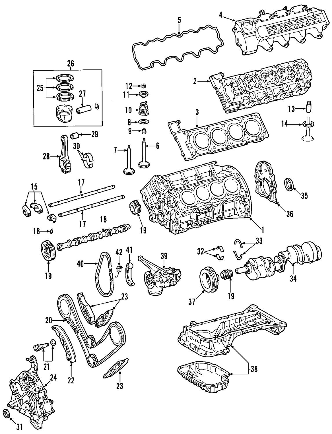 Mb Engine Diagram