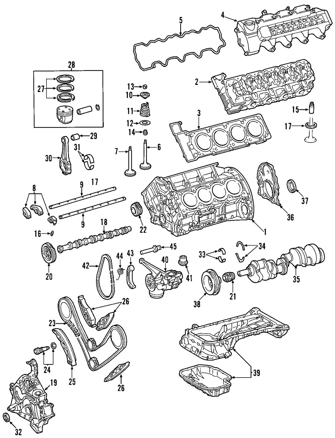 Mercedes C230 Engine Diagram