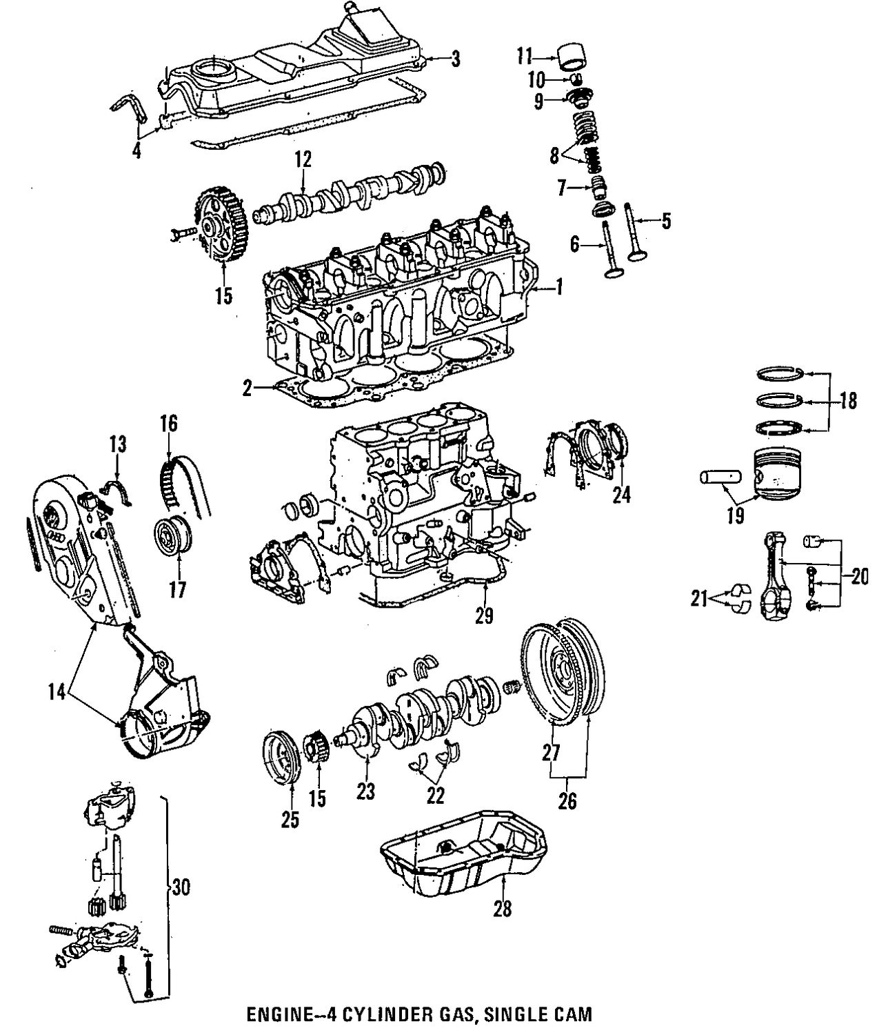 oldsmobile intrigue wiring diagram oldsmobile � oldsmobile intrigue  cylinder head and valves parts