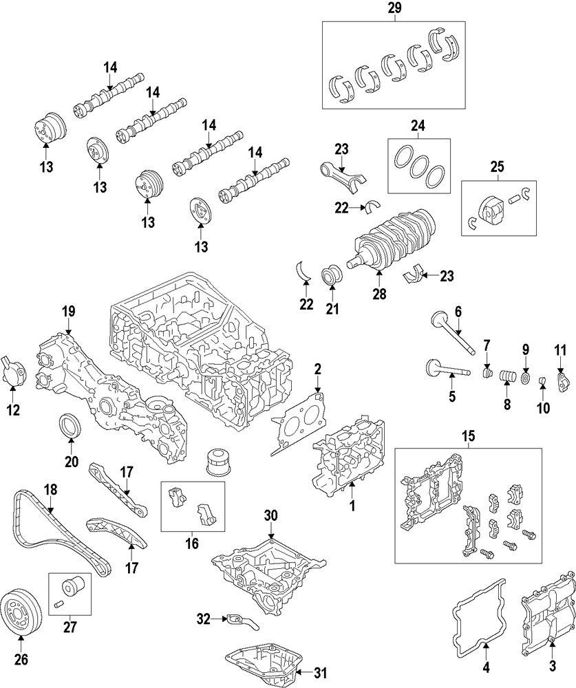 Genuine scion bearing set sci su00300150