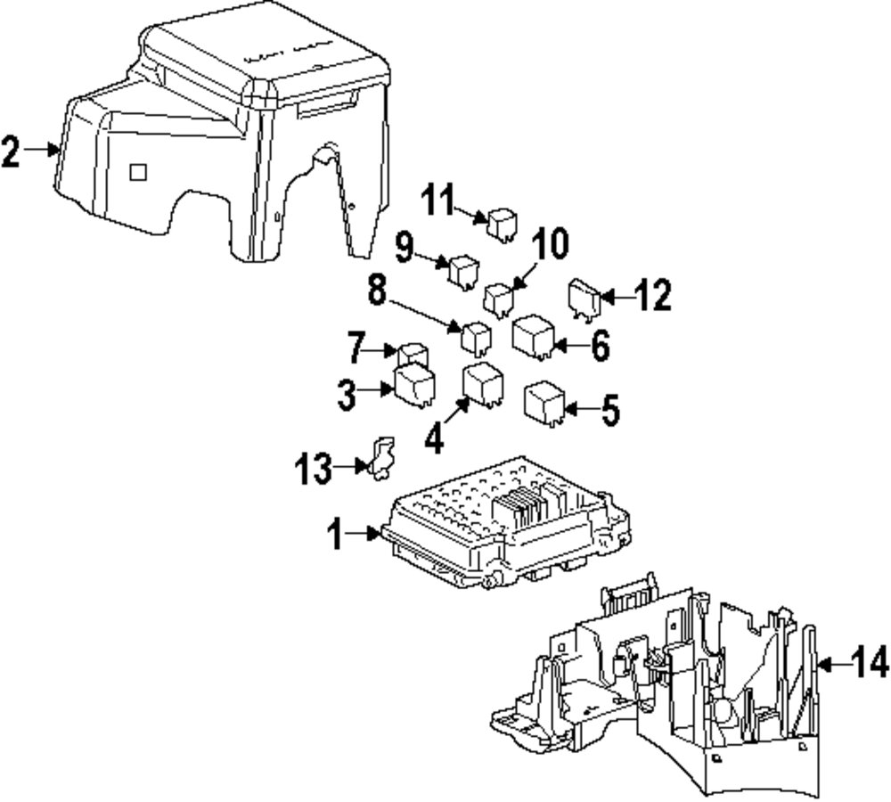 Genuine gmc mini fuse gmc 12092075