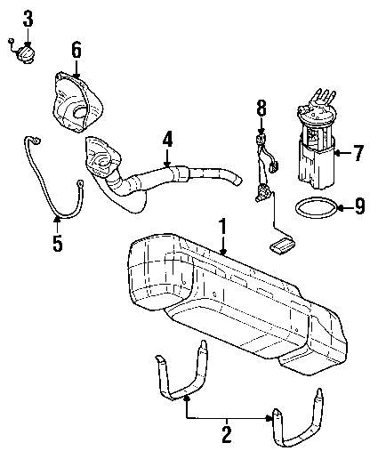Genuine gmc level sensor gmc 19148811