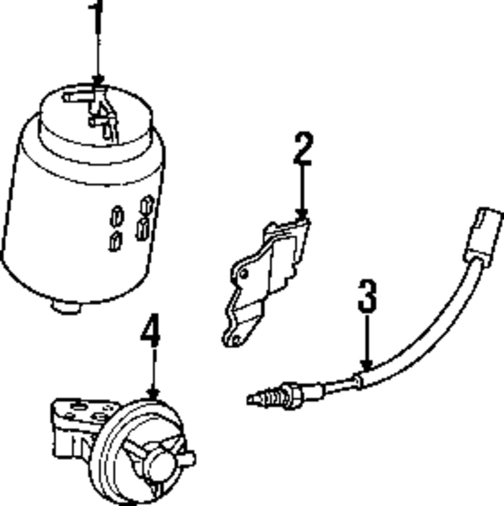 Genuine ford oxygen sensor for f42z9f472a