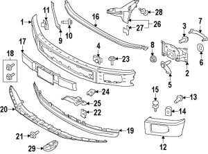 Ford F 150 Bumper Diagram | Online Wiring Diagram