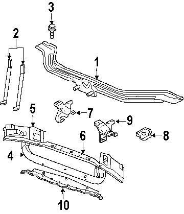 Genuine jeep bumper bracket jee 55296138ab