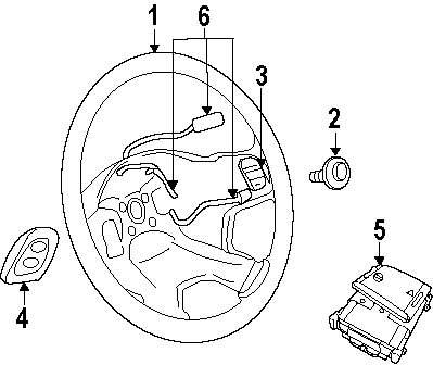 Genuine jeep steering wheel jee 1hk26xdhab