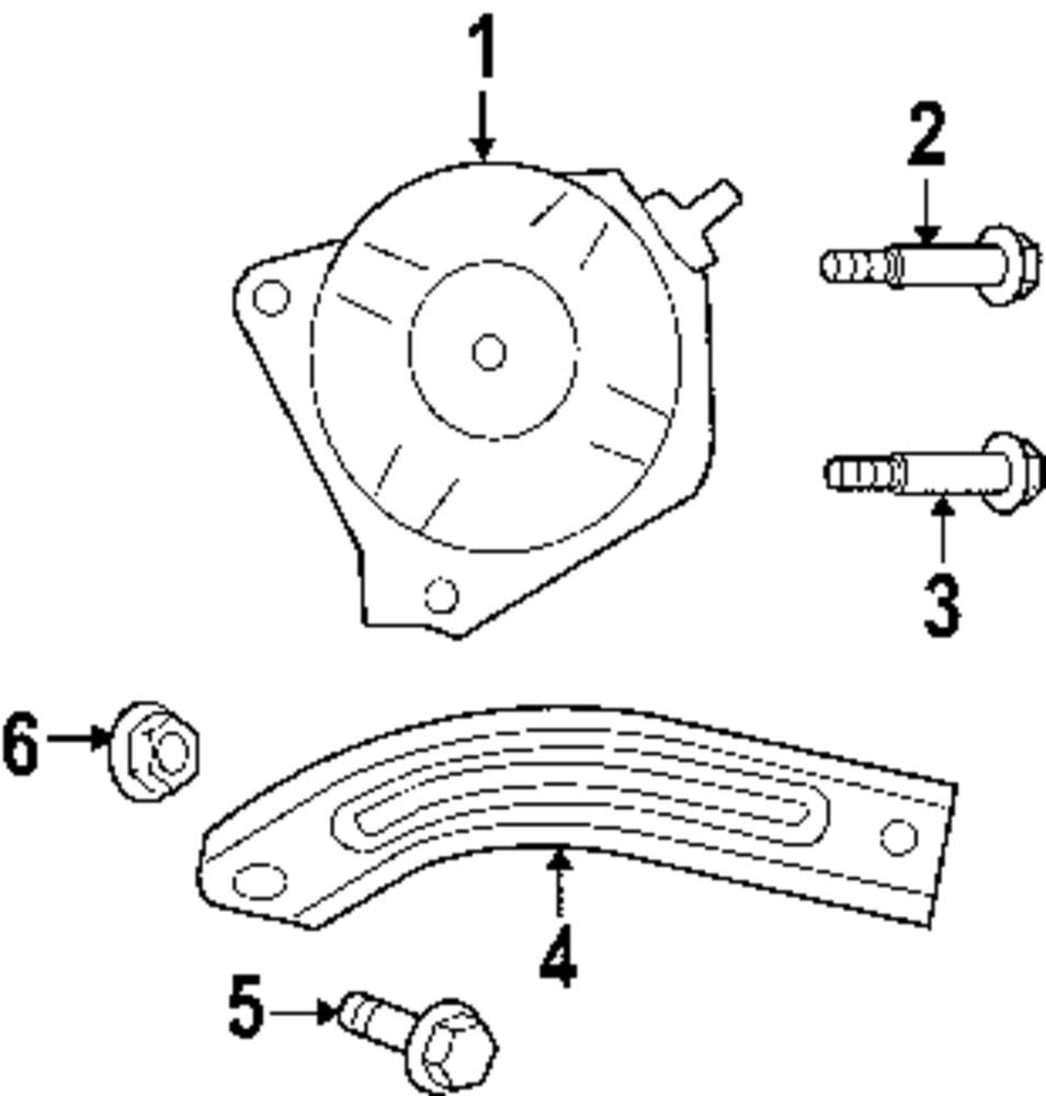 Alternator lower bolt