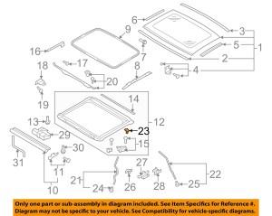 AUDI OEM 0817 A5 Quattro SunroofDrain Hose Repair Kit 8T0898813 | eBay