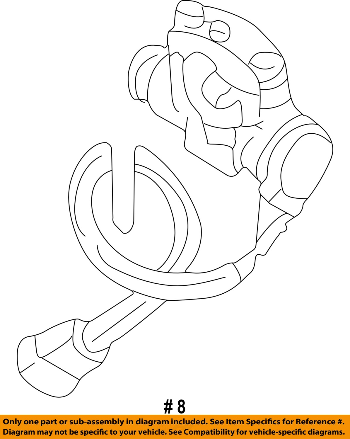 Land rover oem 99 01 discovery steering column ignition lock qrf000080h
