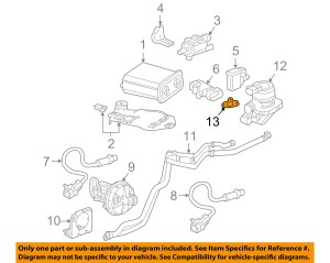 Buick GM OEM 0407 Rainier 42LL6 EmissionCheck Valve