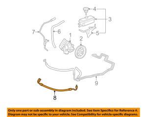 GM OEMPower Steering Pressure Hose 22804663