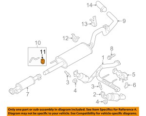 1995 Ford F150 Exhaust System Diagram | Periodic & Diagrams Science