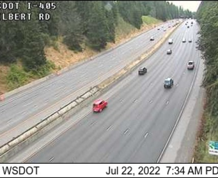 I-405/SR 524 Interchange (Filbert Rd) traffic camera