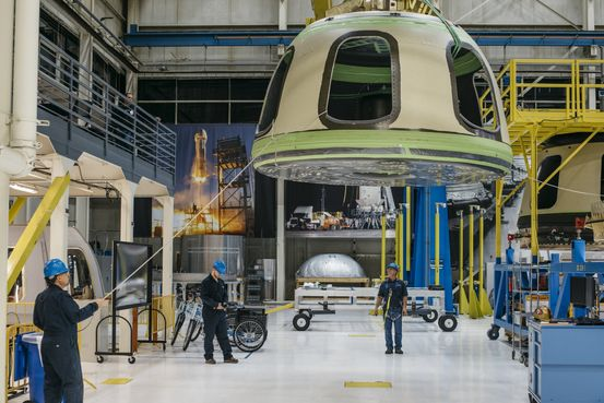 FAA to Review Letter That Criticizes Blue Origin on Safety